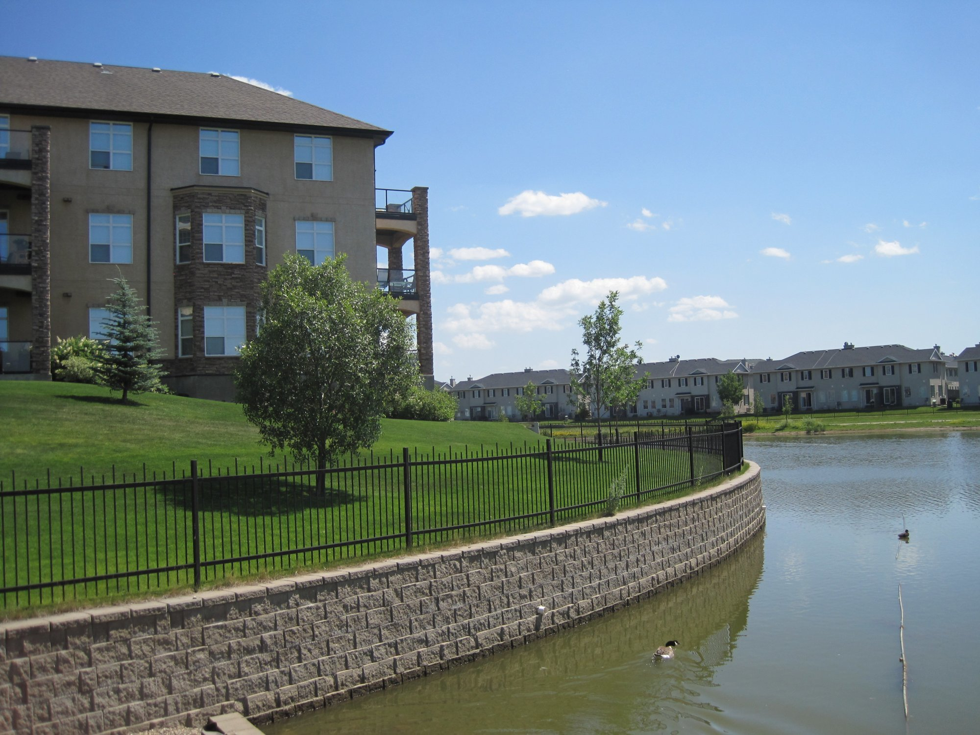 gorgeous canal by riverbend condos for sale